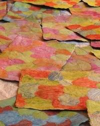 Tischsets handgeschöpftes Papier