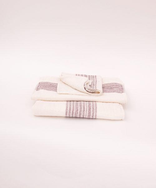 """Kontex Towels """"Flax"""" Rot"""